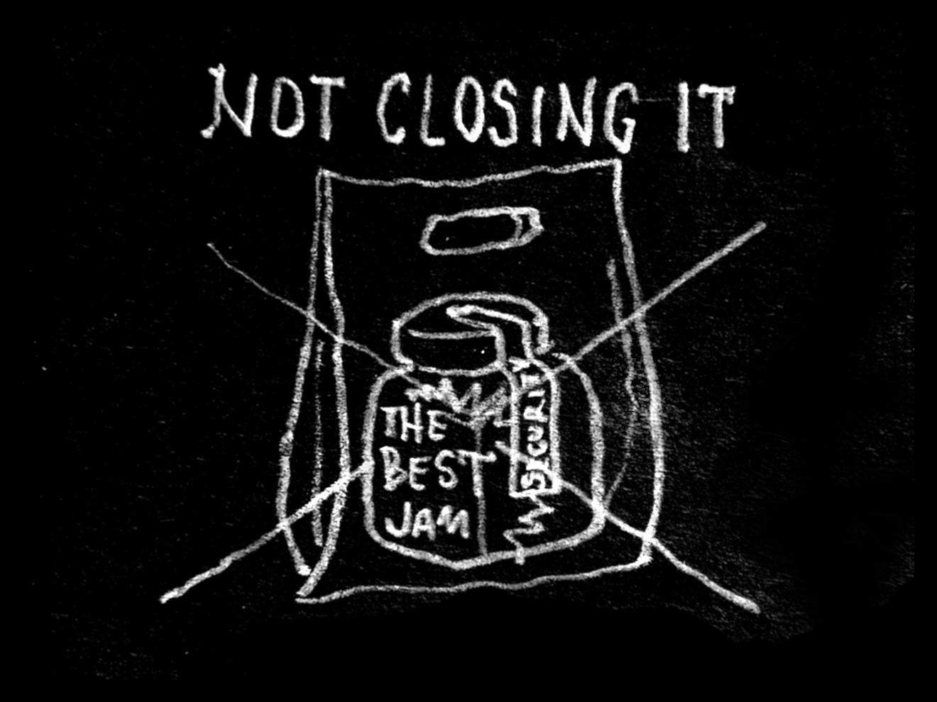 Do not enclose it