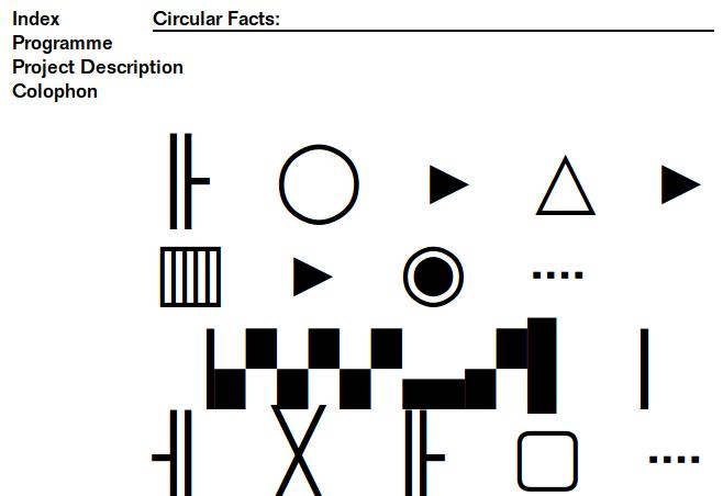 Circular Facts website index