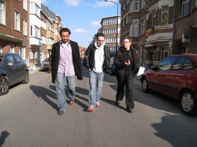 Rencontre avec Denis et Dave Crossland à Fosdem